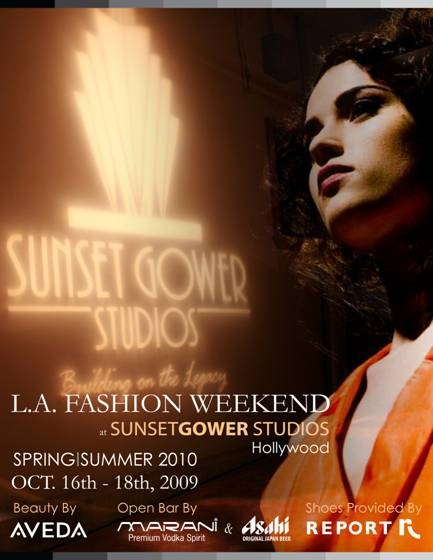 Gower Fashion Week Flyer