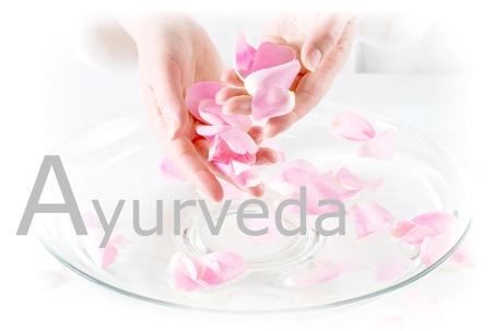 Ayurveda pink rosepetals